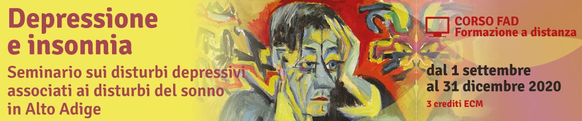 Depressione e insonnia in Alto Adige